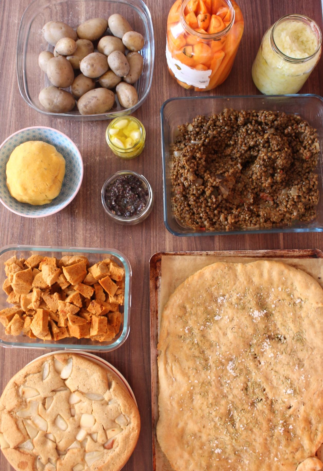 2h En Cuisine Meal Prep De La Rentree Menu Pour La Semaine